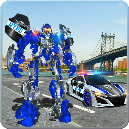 Police Car Robot War: Police Games - Do Police Chase in Cop Car as NY City Police Officer of Real Robot Games. Best Muscle Car Robot Transformation in Robot Fighting Games & NYPD Police Car Games. Free Robot Battle Action Games for Kids