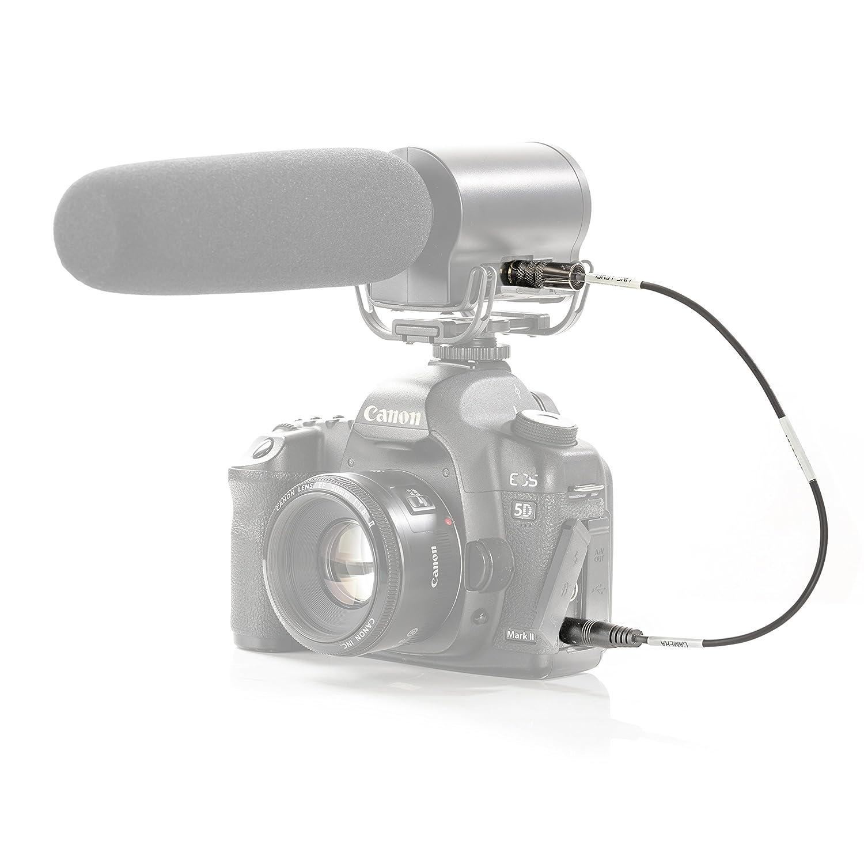 C/âble d/'att/énuation Movo MV-RC100 3.5/mm pour appareils Photo HDSLR entr/ée Line-in m/âle /à m/âle