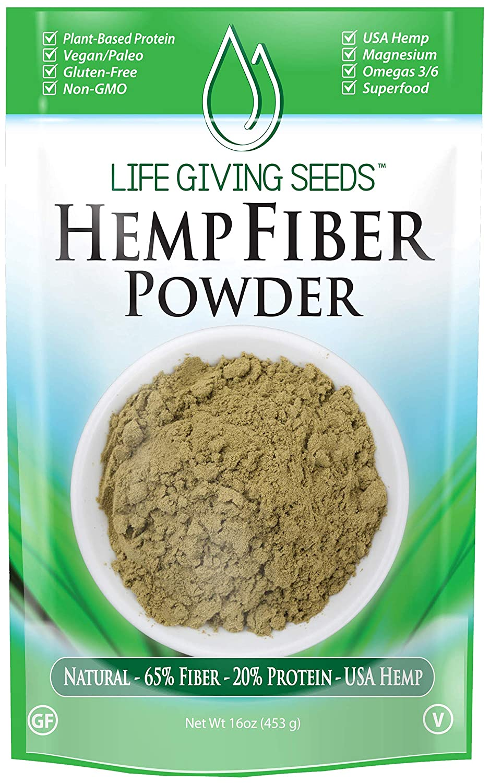 Polvo de alta fibra de proteína de cáñamo de EE. UU. de 1.43 ...