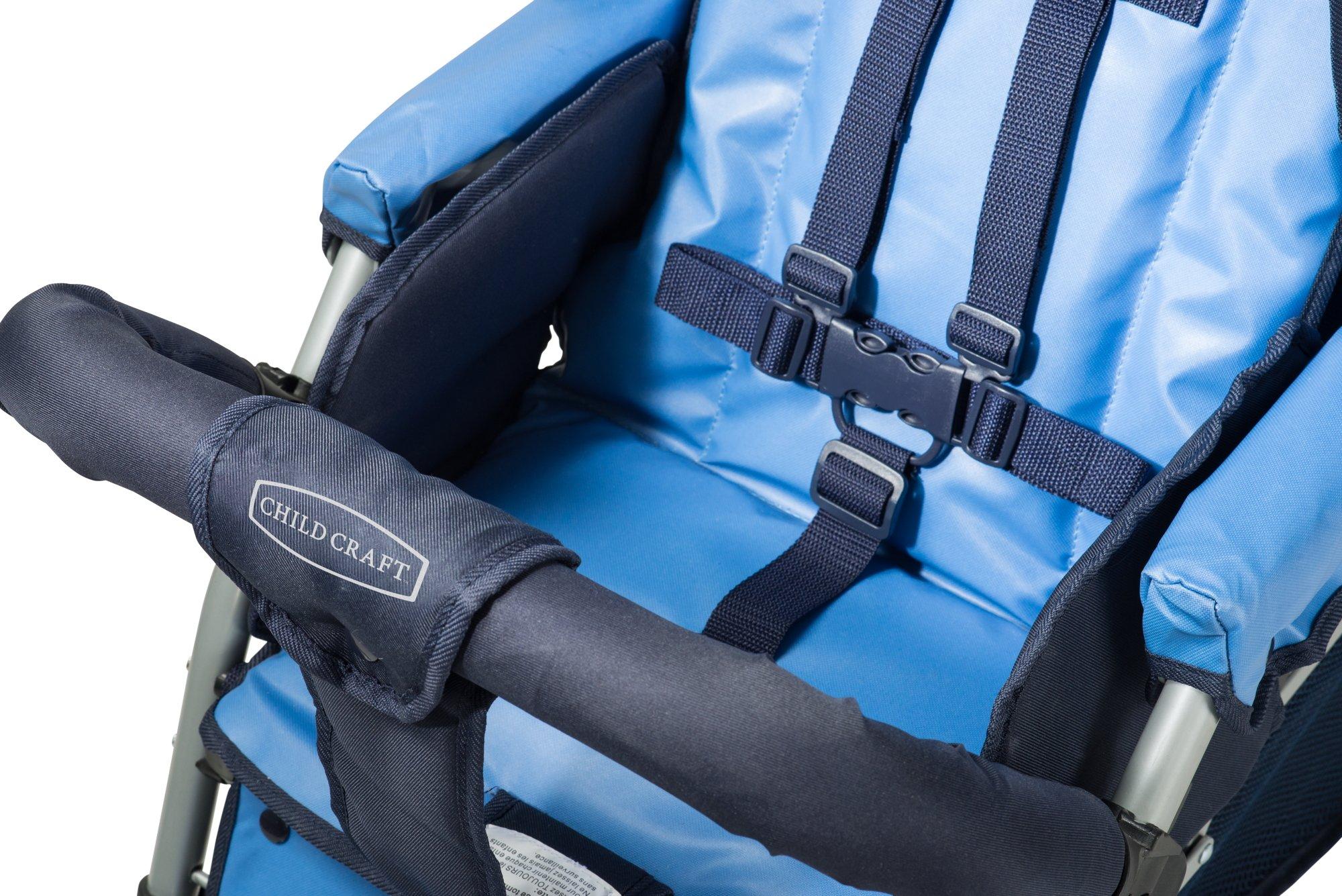 Child Craft Sport Multi-Child Quad Stroller, Regatta Blue by Child Craft (Image #3)