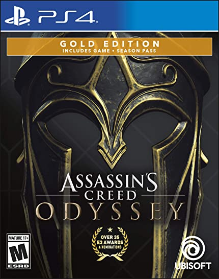 Assassins Creed Odyssey - Playstation 4 Gold Steelbook