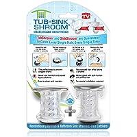 SinkShroom Regenschutz für Waschbecken, Nickel-Edition