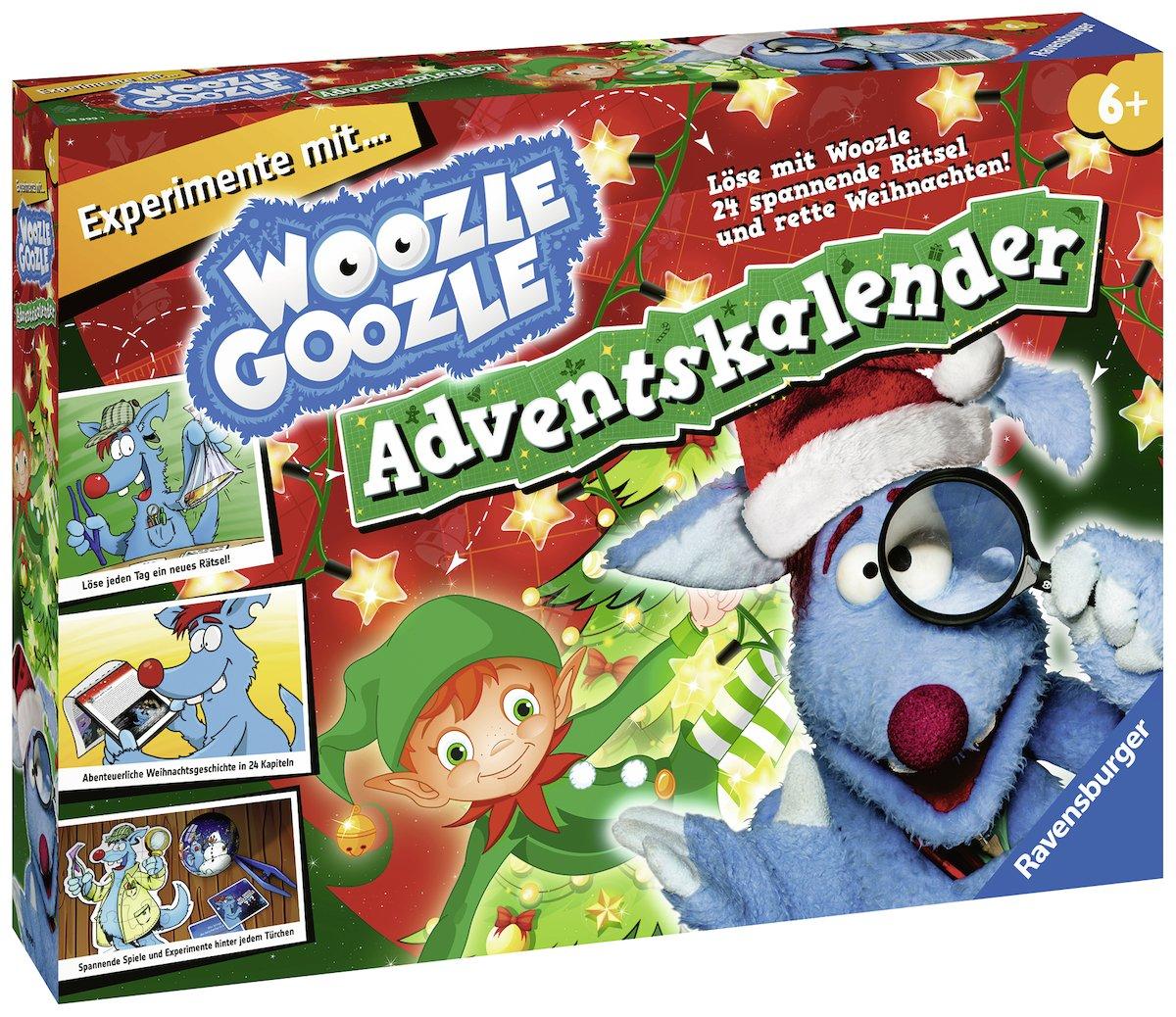 Ravensburger Woozle Goozle 18999 Woozle Goozle Adventskalender 2018 ...