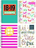 Tallon 3899 2018-2019 academic A5 wire bound fashion design week to view diary with plastic cover