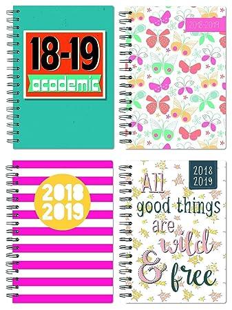Amazon.com: Tallon – Agenda escolar A5 – varios colores ...