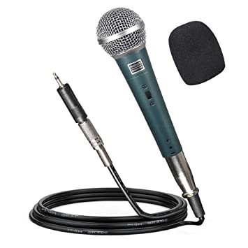 Pyle Professional Handheld Microphone 6.5FT Cable /& Clip Package Stand
