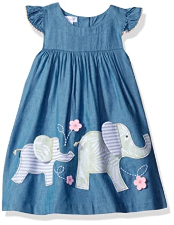 fcc4f88e801a Amazon.com  Mud Pie Baby Girls  Casual Playwear Sun Dress