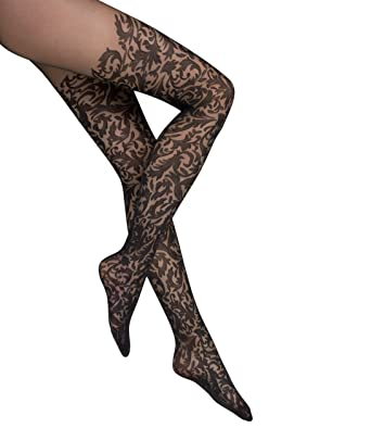 90814b22e Wolford Women s Daphne Tights at Amazon Women s Clothing store