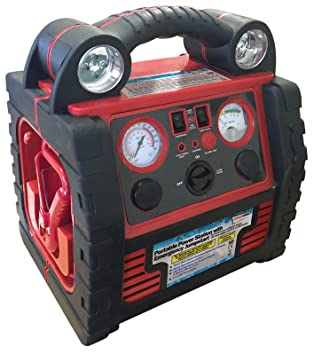 Compresor de aire de 12 V 900 A de alimentación, portátil: Amazon.es: Coche y moto
