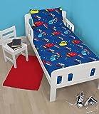 Disney Cars Movie Junior / Toddler Cot Bed Size Quilt Cover Duvet Set