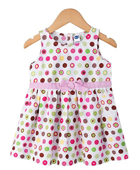 cf97e227d56109 Teddy Baby Girls Sleeveless Frock,12-18 Months,100% Cotton | Baby ...