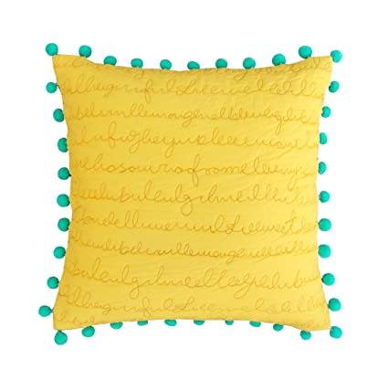 pillows teal by pillow yellow and starburst cover throw with lumbar decorative decoration