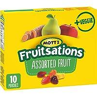 Mott's Fruitsations + Veggie Gluten Free Assorted Fruit, 10-Count, 226 Gram