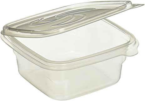 Kole OF852 Food Storage Containers With Attached Lids, Regular