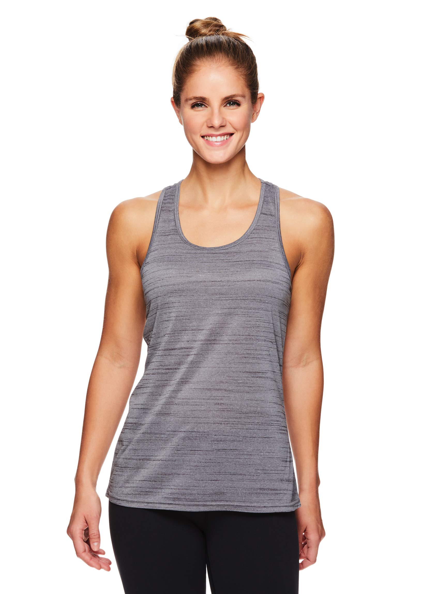 HEAD Women's Racerback Tank Top - Sleeveless Flowy Performance Activewear Shirt - Serenity Heather, X-Small