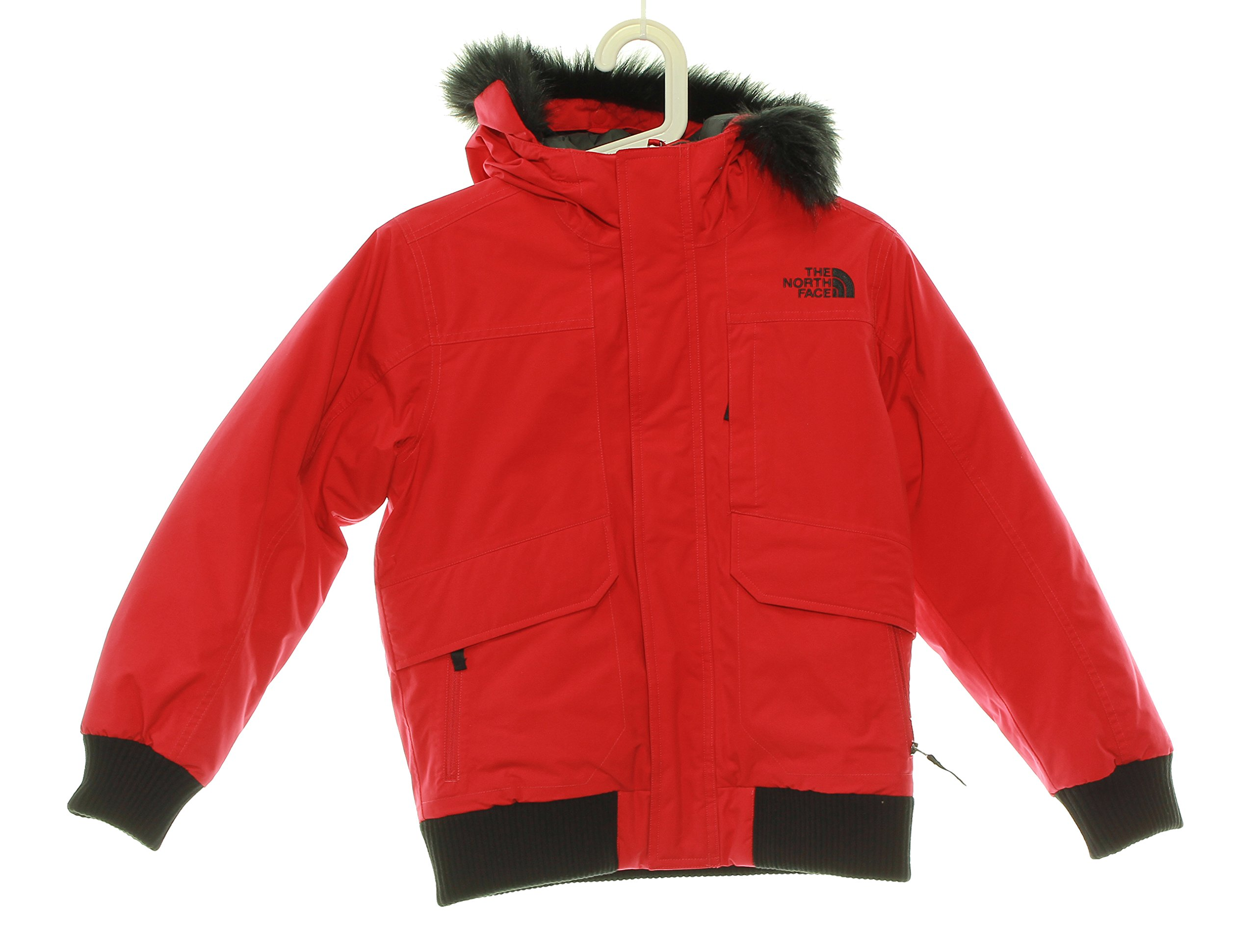 Boy's The North Face Gotham Down Jacket 10/12 Red, Medium by No Warranty The North Face