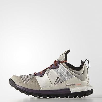adidas Botas de trekking mujer Response tr Boost, mujer, LBROWN/FTWWHT/SOLRED, 10: Amazon.es: Deportes y aire libre