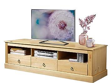 Cadell Tv Bank Hifi Board Lowboard 161x50x45 Cm Fernsehtisch