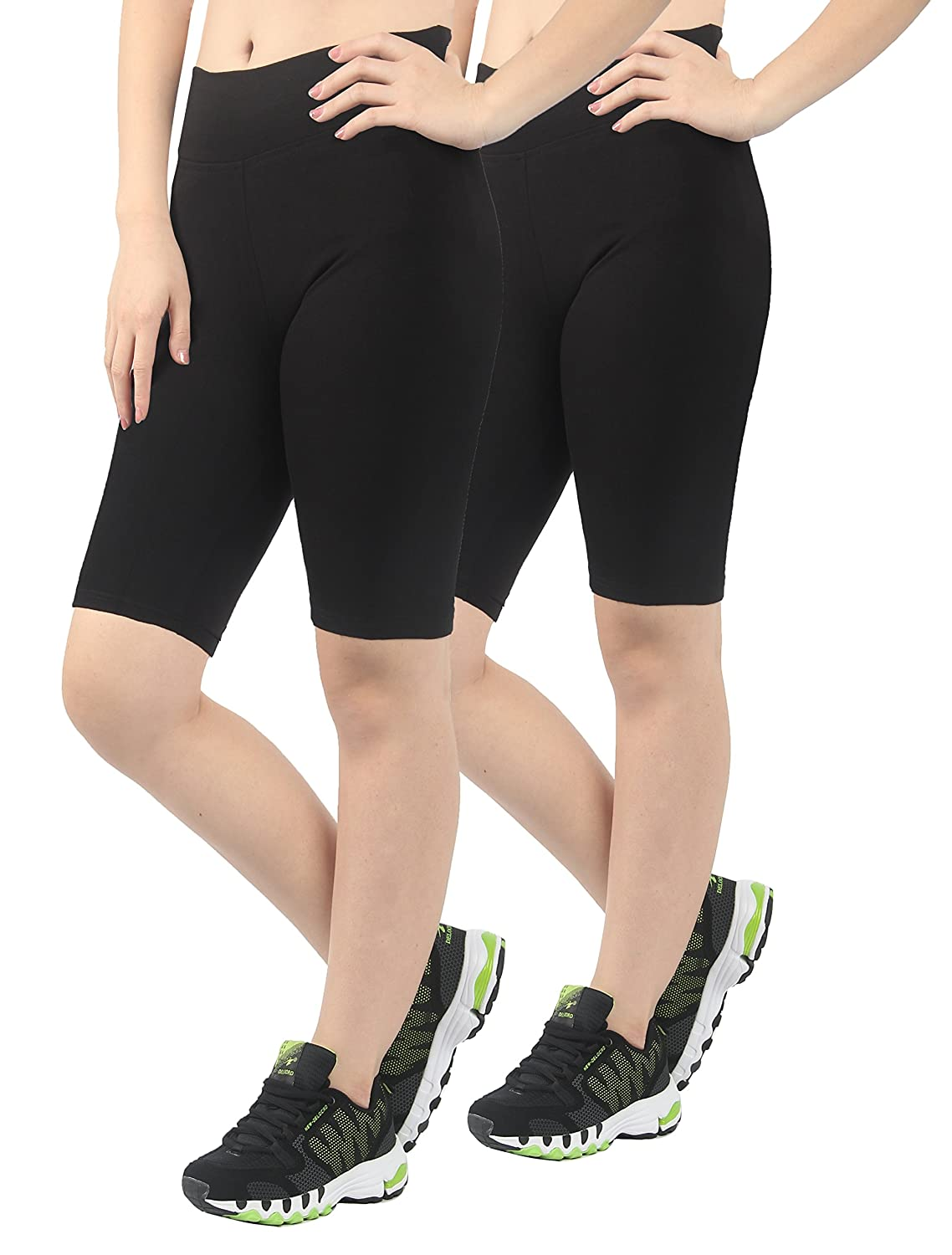 4HOW 2Pack Women's Tight Active Shorts S22651120