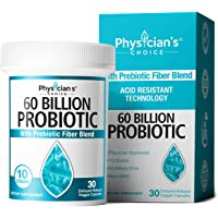 Probiotics 60 Billion CFU - Dr. Approved Probiotics for Women, Probiotics for Men and Adults, Natural, Shelf Stable…