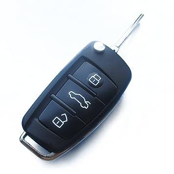 audiks17 - Llave de recambio chasis con 3 botones llave de ...