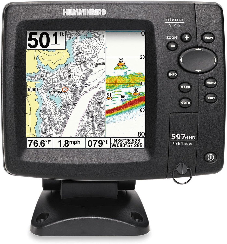 Humminbird Echolot 597 CI HD COMBO pescado Finder: Amazon.es ...