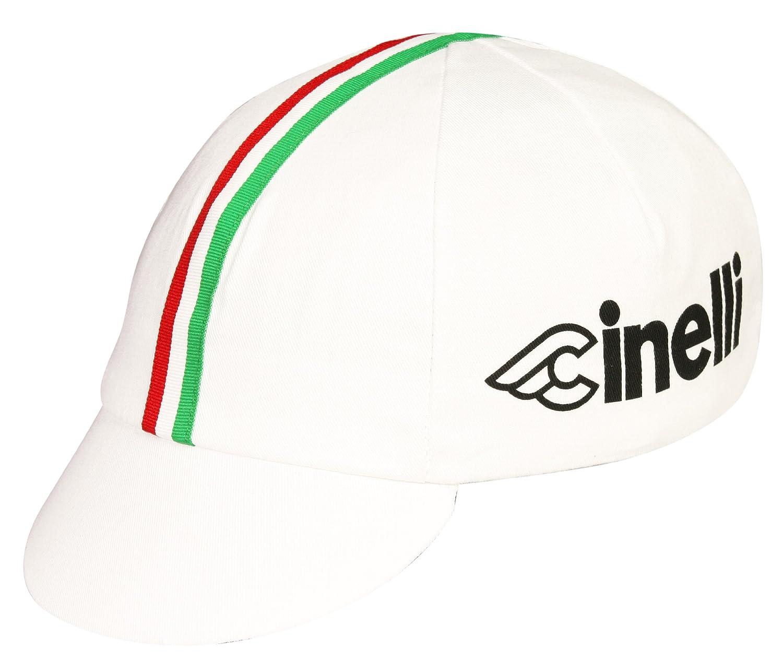 Pace Sportswear Cinelli Cap, White, One Size 15-0705