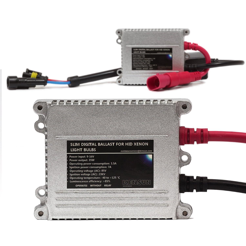 Amazon.com: HID Xenon Headlight Conversion Kit by Kensun, H11, 12000K - 2  Year Warranty: Automotive