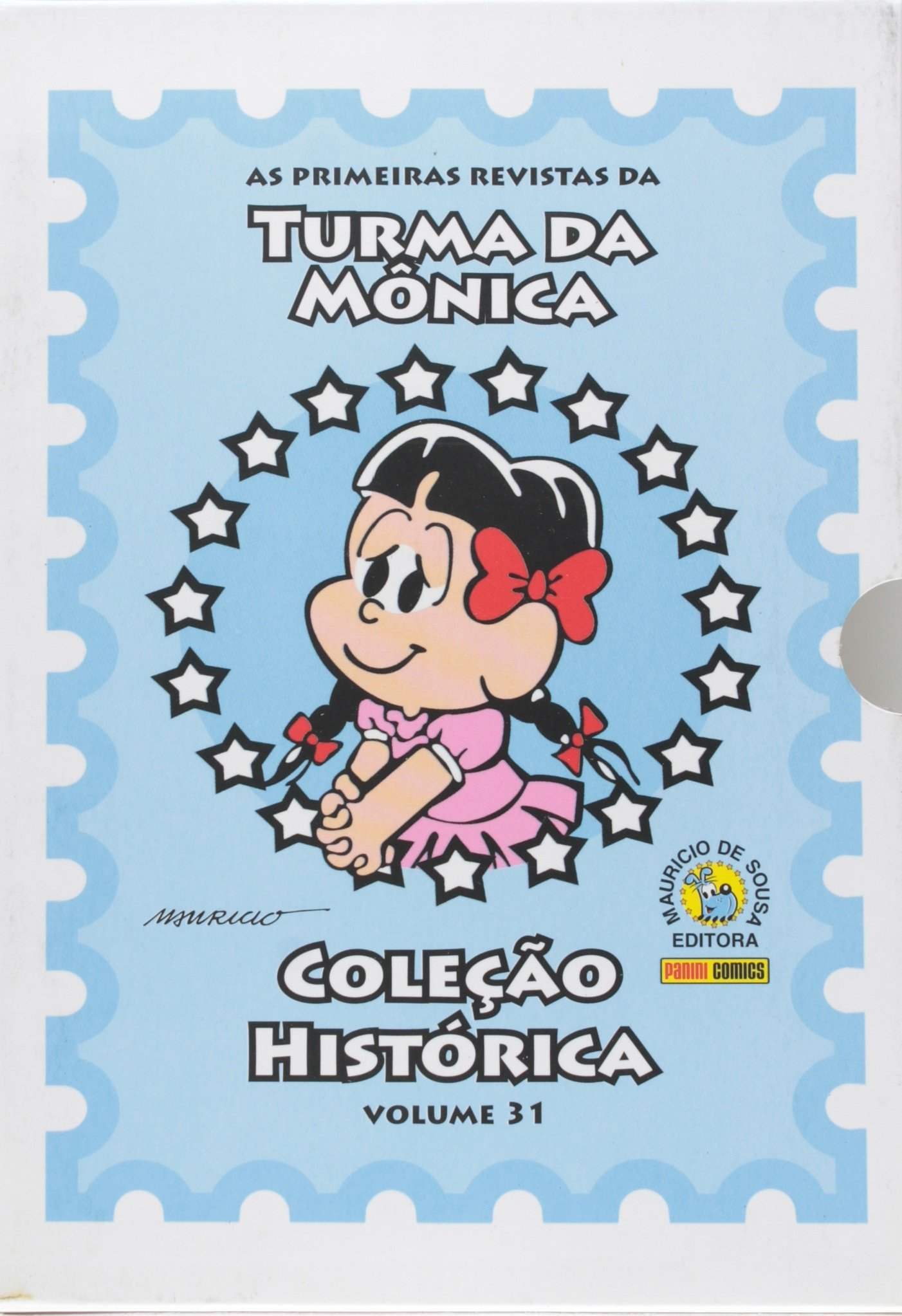 Turma da Monica: As Primeiras Revistas - Box Colecao Historica Volume 31 (Em Portugues do Brasil): Mauricio de Sousa: 9788573519457: Amazon.com: Books
