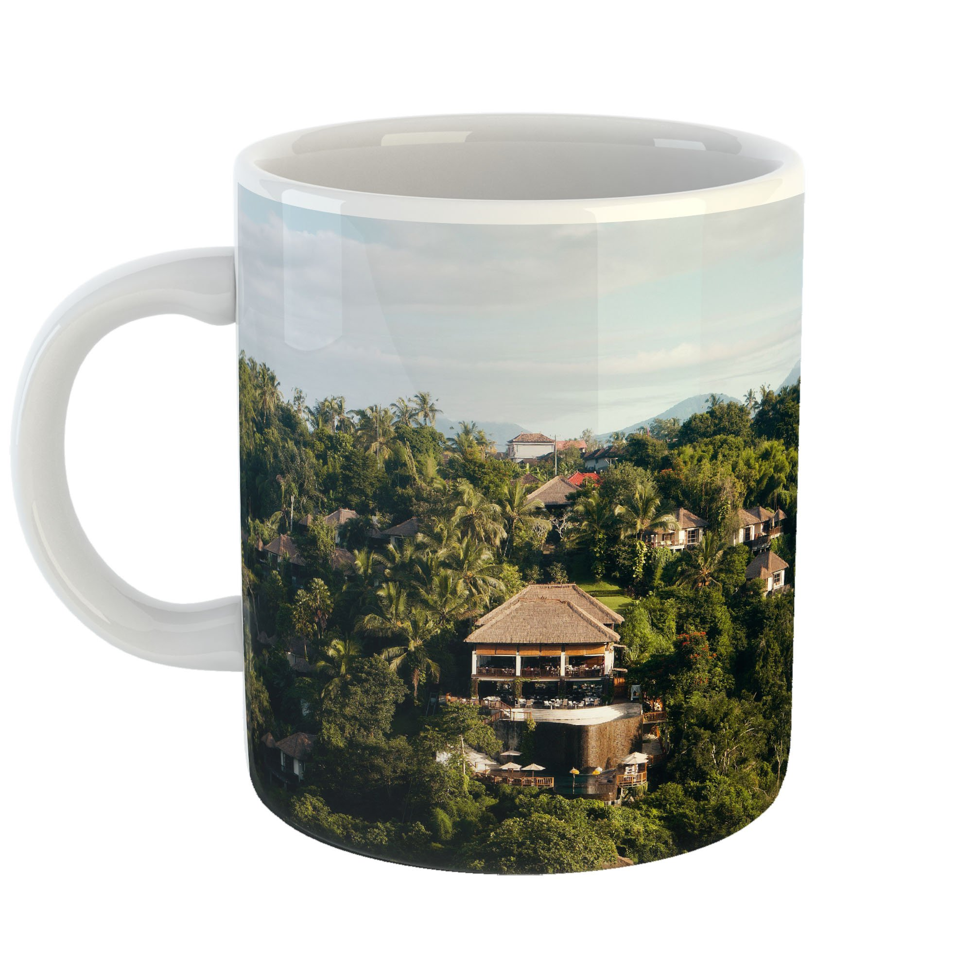 Westlake Art - Hotel Luxury - 11oz Coffee Cup Mug - Modern Picture Photography Artwork Home Office Birthday Gift - 11 Ounce (AB80-DD8E9)