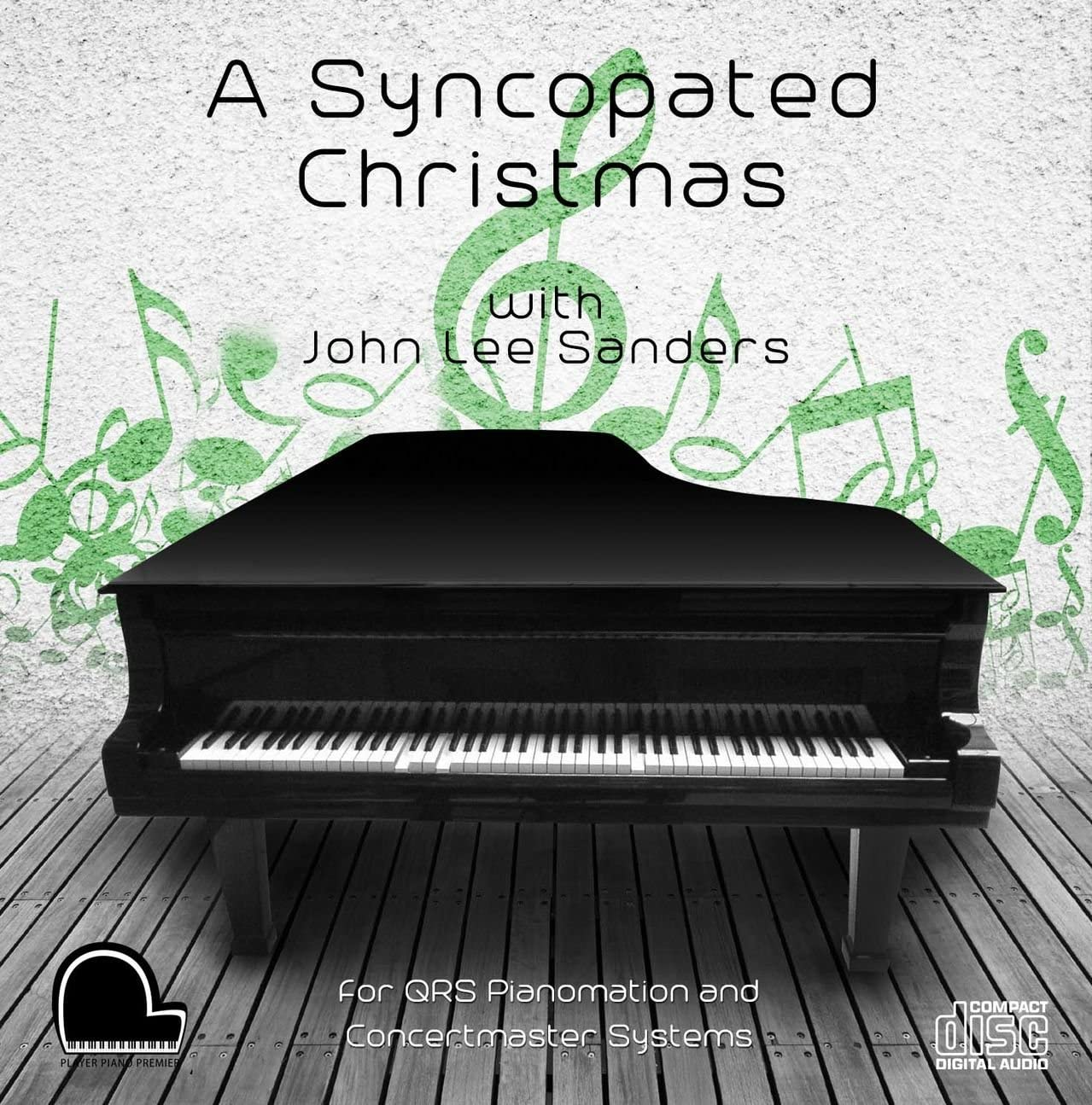A Syncopated Christmas - QRS Pianomation and Baldwin Concertmaster Compatible Player Piano CD