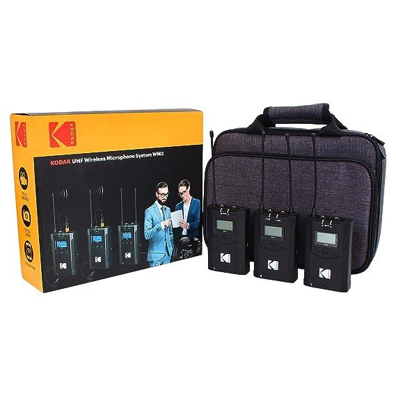 KODAK UHF Wireless Microphone System WM3