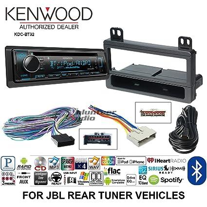 Amazon Com Volunteer Audio Kenwood Kdc Bt32 Double Din Radio