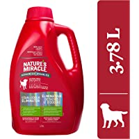 Nature's Miracle Advanced Stain & Odor Remover Just for Dogs, Pet Stain Eliminator, 3.7 Litres