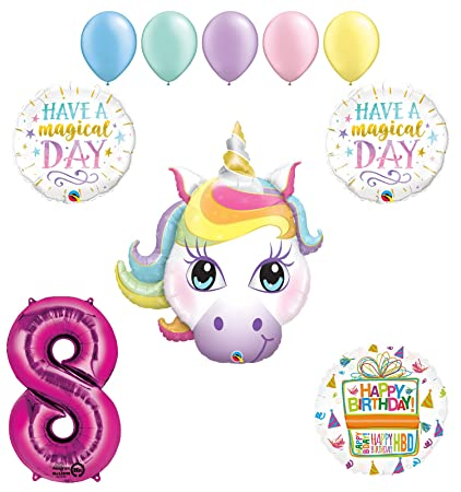 Amazon Mayflower Products Magical Unicorn 8th Birthday Party
