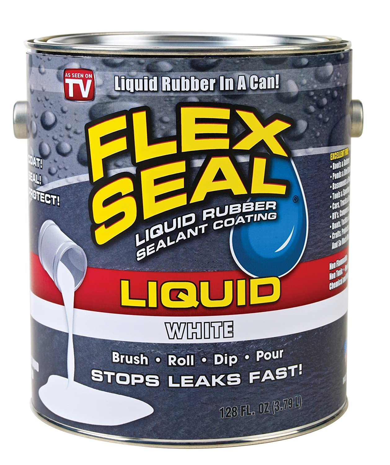Flex Seal Liquid Rubber in a Can