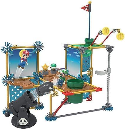 KNEX Super Mario - Set de construcción Deluxe Gran Cañón, 142 piezas (Fábrica de Juguetes 41014) , color/modelo surtido: Amazon.es: Juguetes y juegos