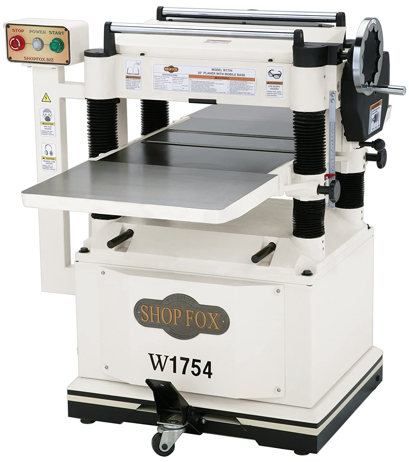 Cutech 40200H-CT 13 Spiral Cutterhead Planer – Professional Model