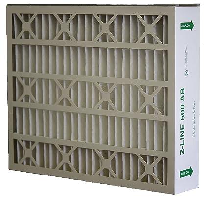 2-Case Glasfloss Industries HWP202542PK Z-Line Series 400 HW MERV 10 Air Cleaner Replacement Filter Option