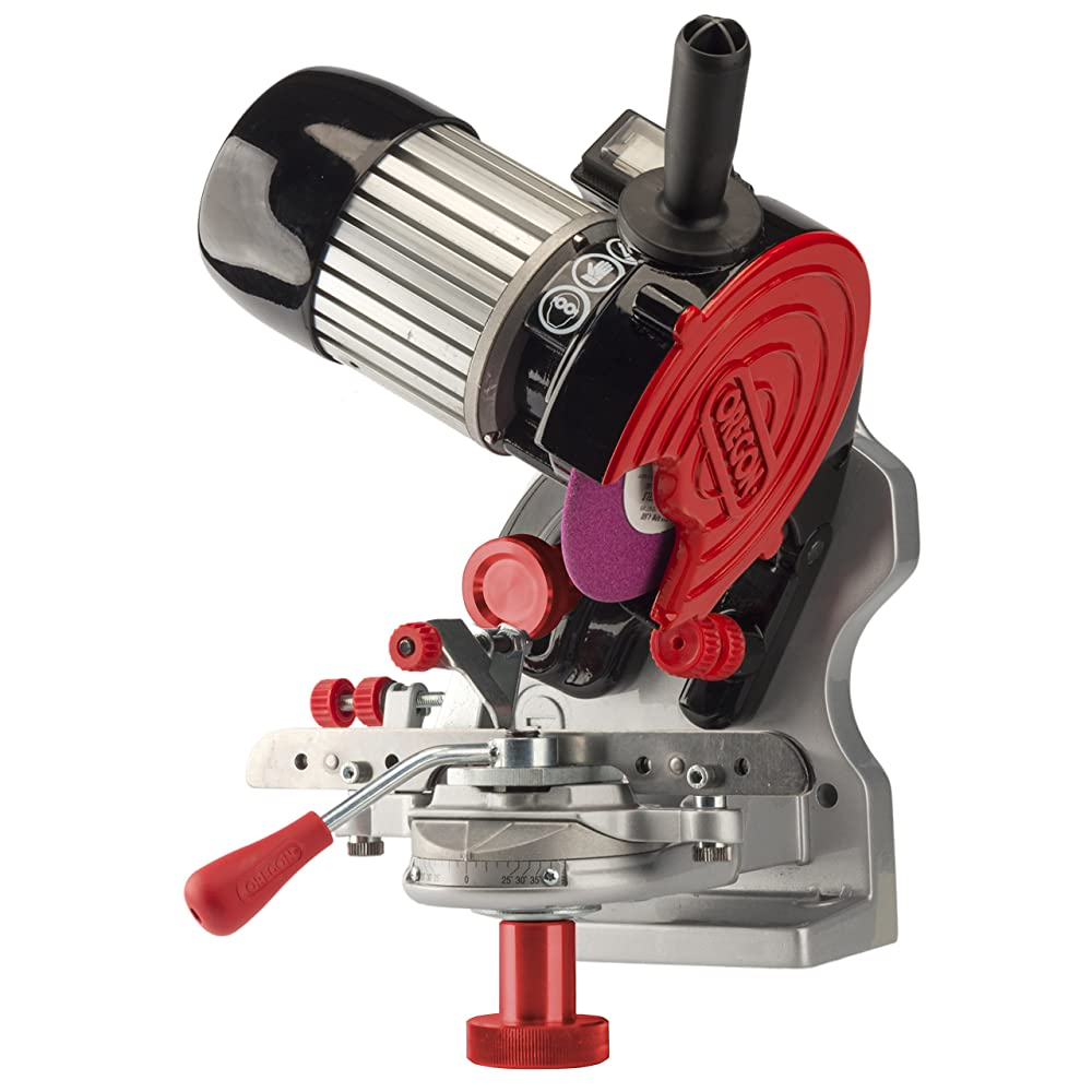 Oregon 410-120 Bench or Wall Mounted Saw Chain Grinder Review
