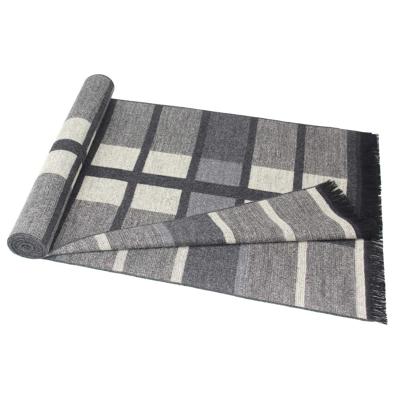 Panegy Men Cashmere Scarves Casual Winter Warm Thick Long Scarf for Business Man