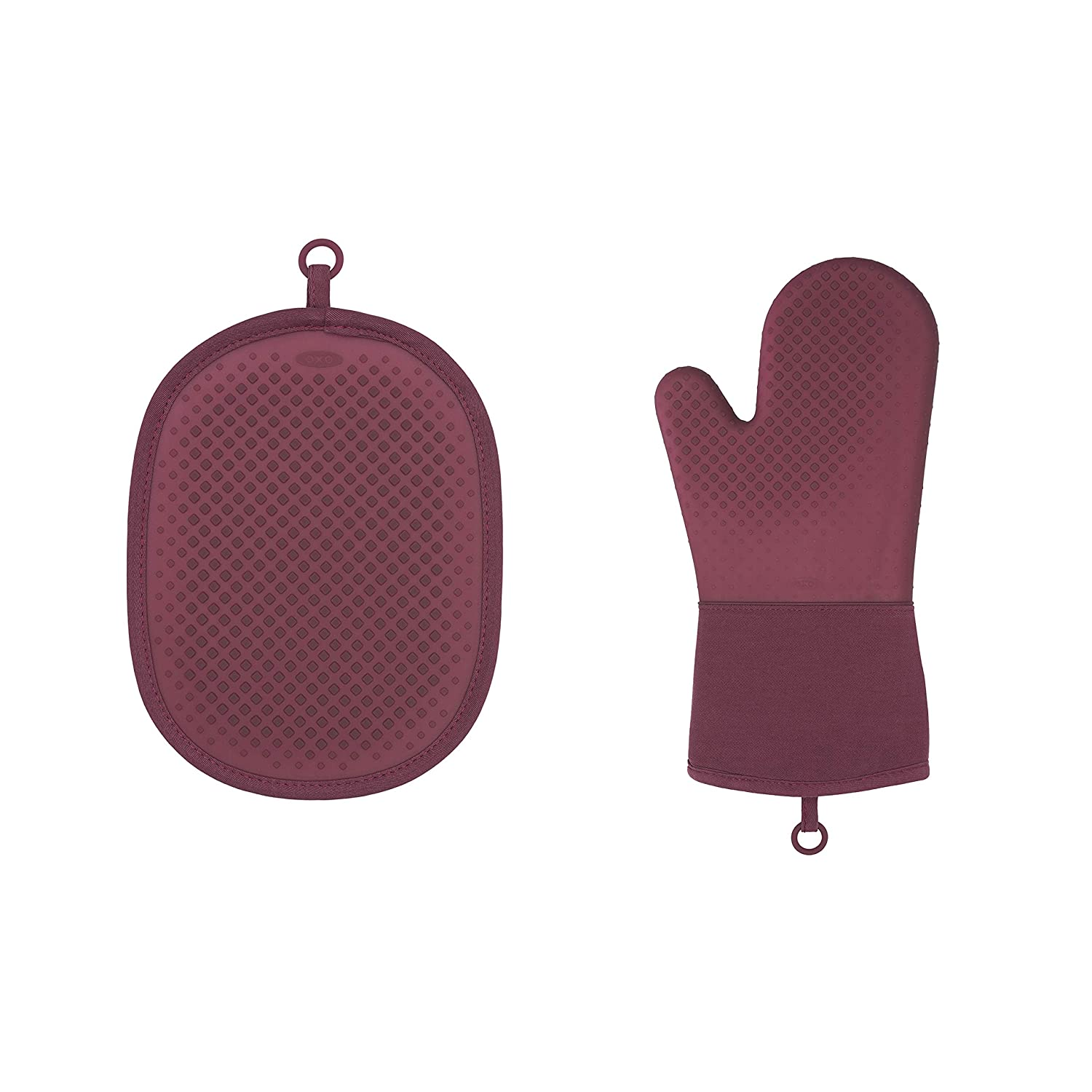 OXO Good Grips Silicone Oven Mitt & Pot Holder Set