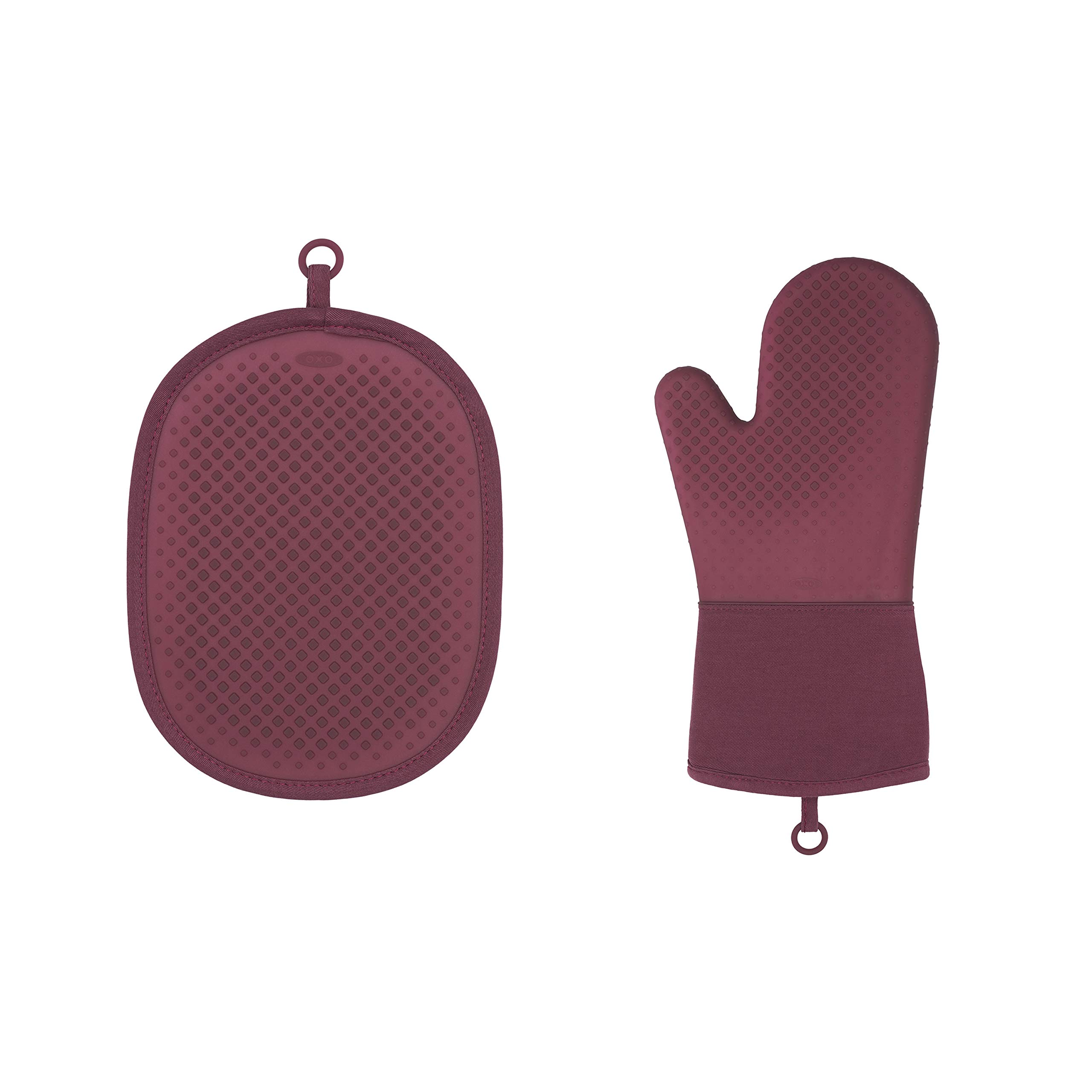 OXO Good Grips Silicone Oven Mitt & Pot Holder Set by OXO