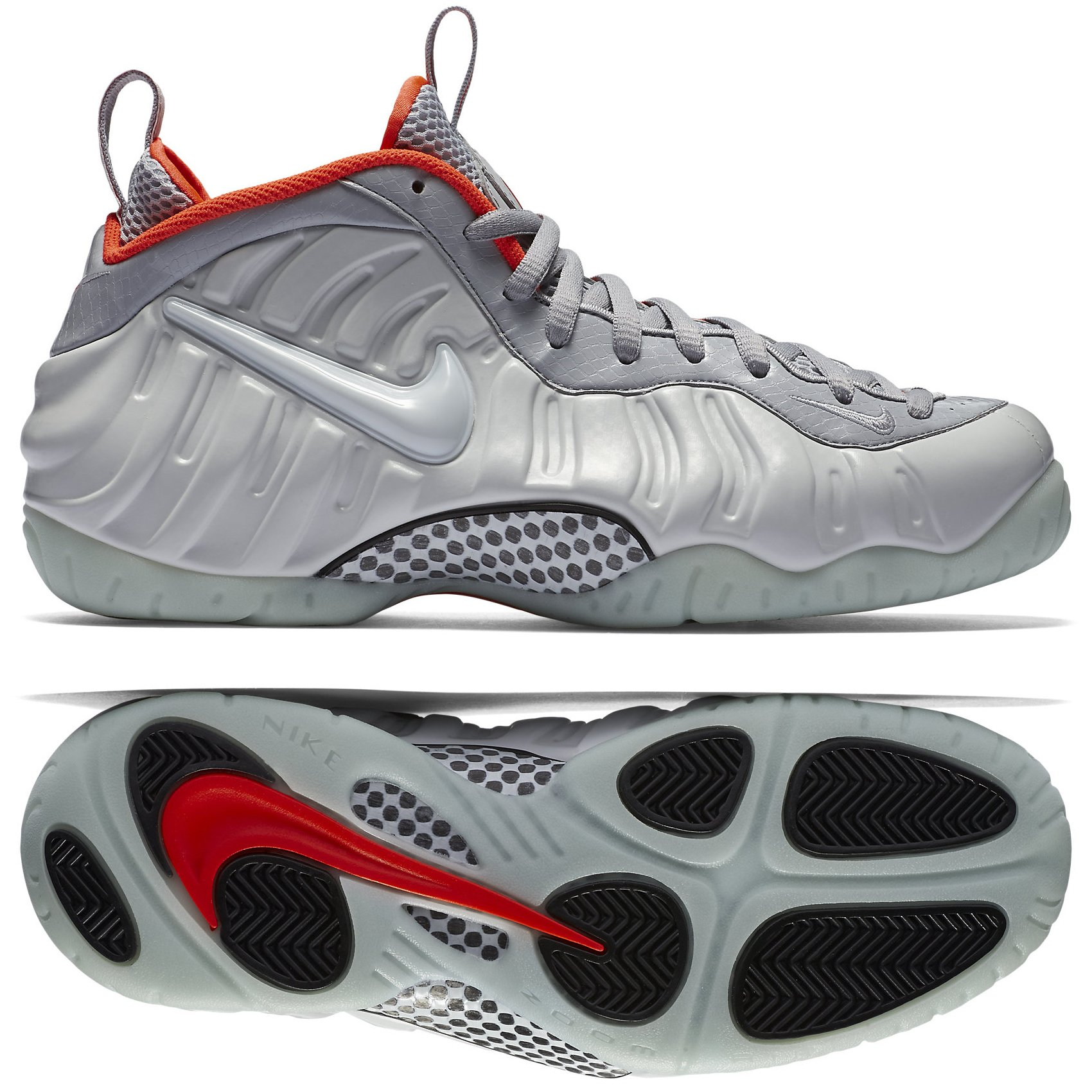lowest price a8ace 914b9 Nike air Foamposite pro PRM Mens hi top Basketball Trainers 616750 Sneakers  Shoes (US 8, Pure Platinum Wolf Grey 003)