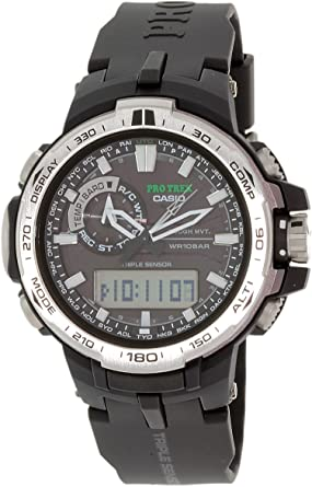 8af07e4dec Amazon | CASIO (カシオ) プロトレック PROTREK 腕時計 PRW-6000-1 電波 ...