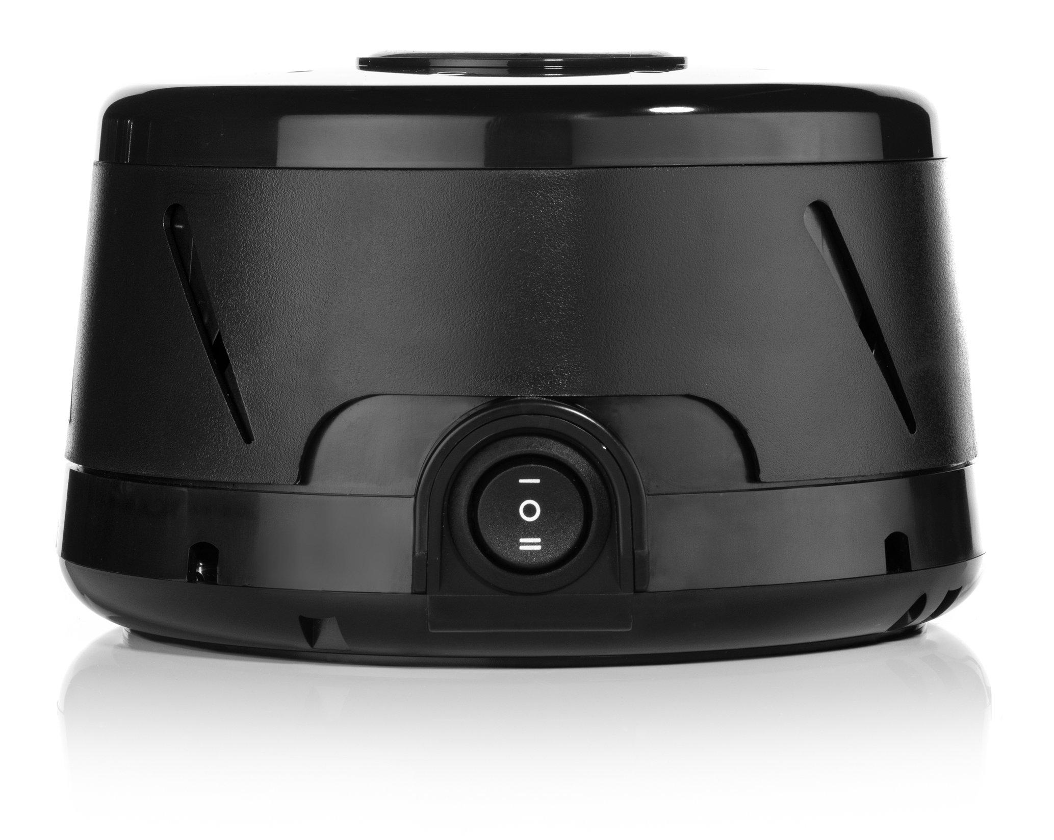 marpac dohm classic white noise sound machine black amazon. Black Bedroom Furniture Sets. Home Design Ideas