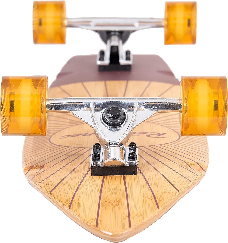 Retrospec Zed Bamboo Longboard Skateboard - 3