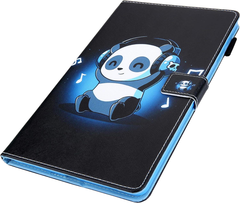 XTstore Coque Etui pour Samsung Galaxy Tab A 10.1 2019 SM-T510//T515 Folio Stand Multi Angles Etui Housse de Protection avec Pachette de Document pour Samsung Tab A 10.1 2019