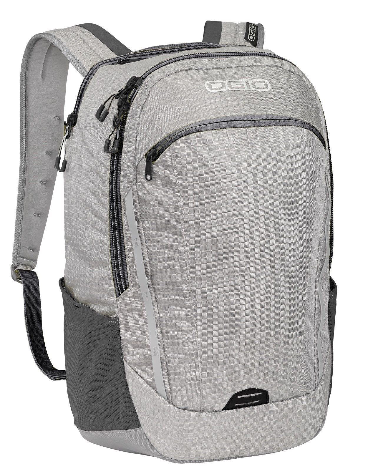 OGIO 411094 Shuttle Pack 15'' Laptop/MacBook Pro Backpack, Grey/Silver