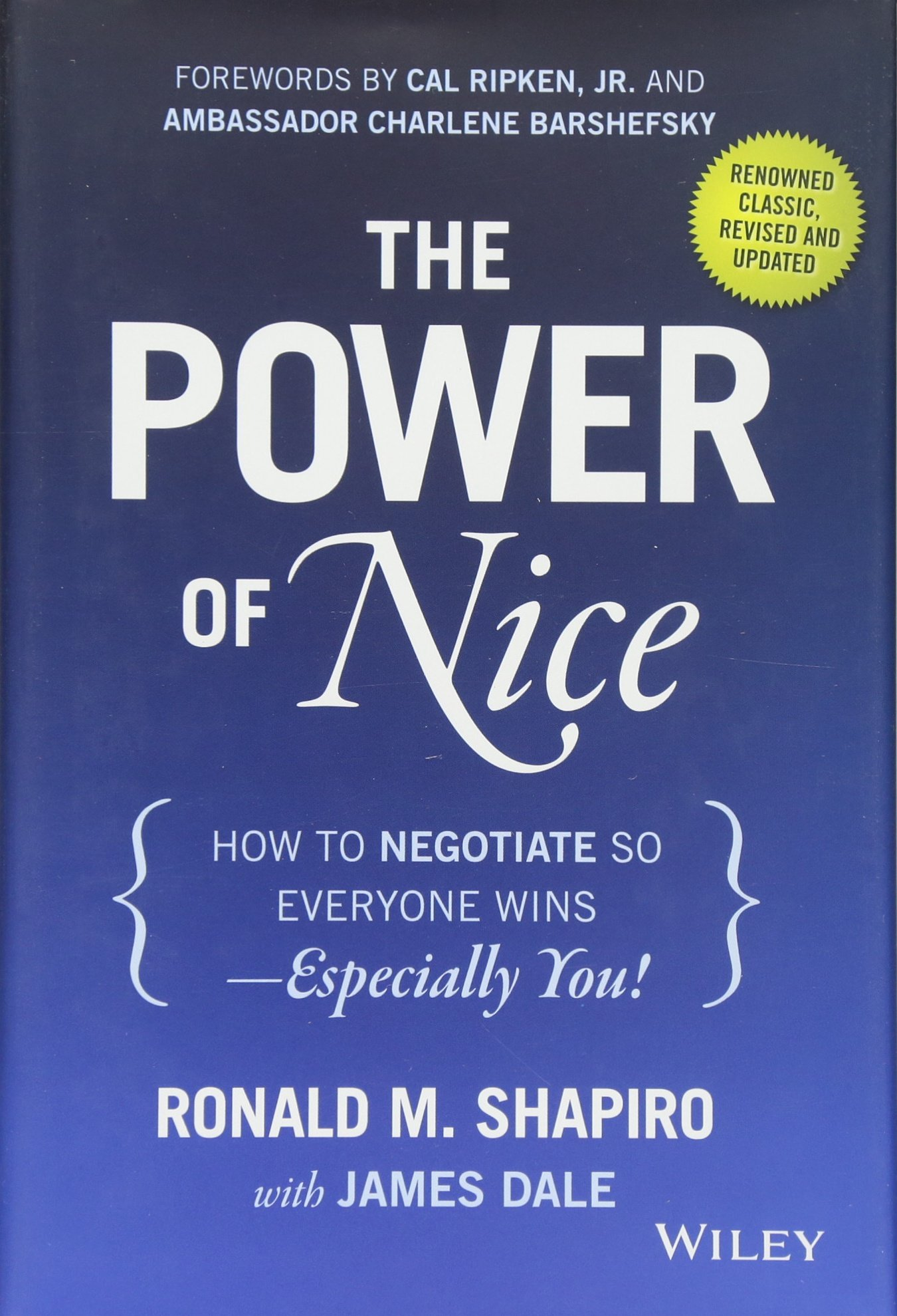 the power of nice how to negotiate so everyone wins